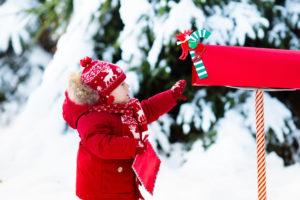 Post vom Weihnachtsmann